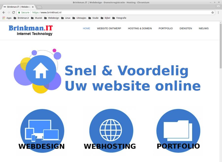 Goedkope en Betrouwbare Webhosting, Webdesign en Domeinregistratie