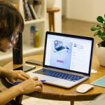 Thuiswerken, Laptop, Wordpress