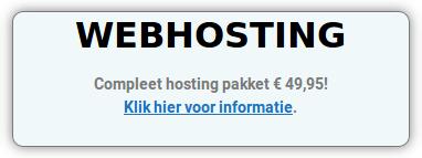 Budget Webhosting