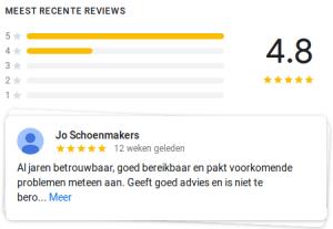 Google Reviews klanten