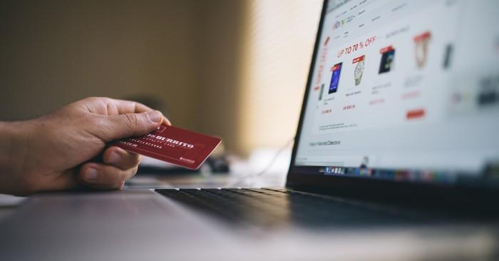 online winkelen creditcard shoppen
