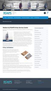 ROAPS Kirby Service WordPress Webwinkel