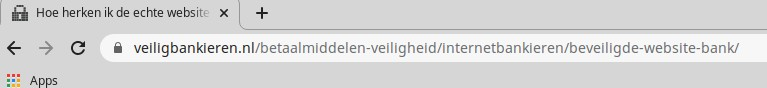 gemankeerde adresbalk google chrome