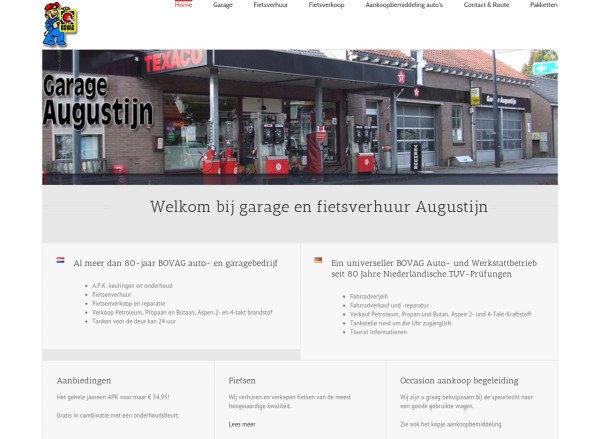 Website Garage Augustijn Kortgene