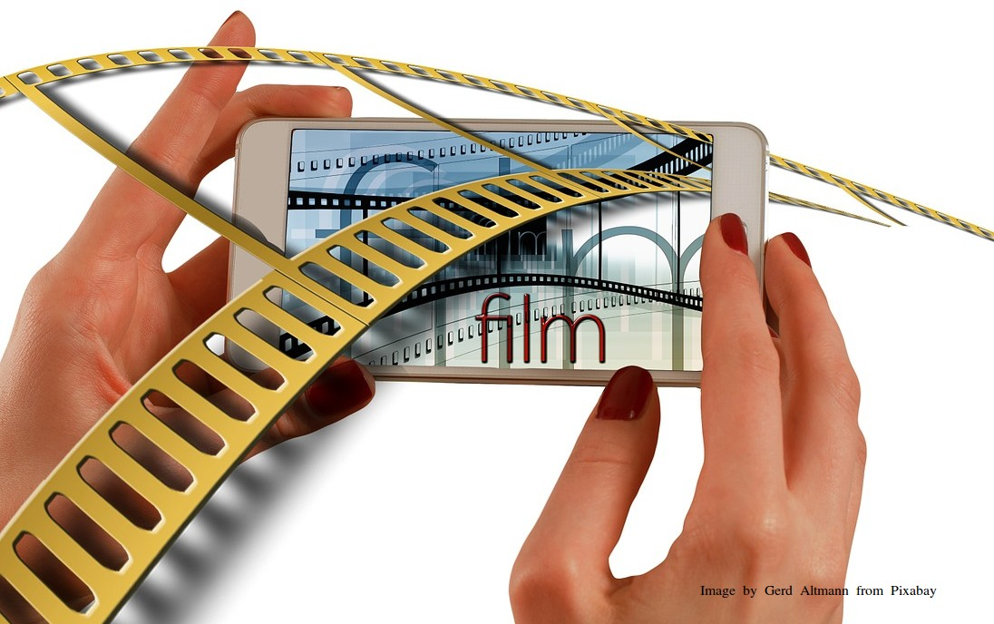 Foto Film Video Mobiele telefoon mage by Gerd Altmann from Pixabay