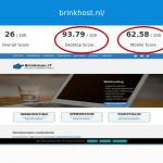 Brinkhost Wordpress geoptimaliseerd SEO gratis google website seo check