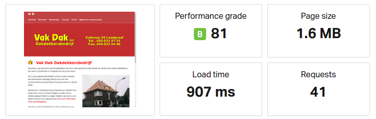 Website performance wordpress pingdom testen