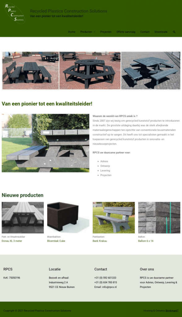 Recycled Plastics Construction Solutions