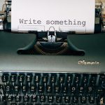 blogger schrijfmachine schrijven website maken