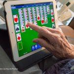 Senioren digivaardig computer