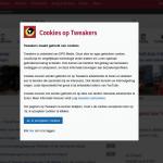 cookiemuur en overtreding cookiewetgeving door grote websites