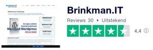 Ervaringen met BrinkmanIT trustpilot reviews brinkhost brinkman zuidhorn groningen